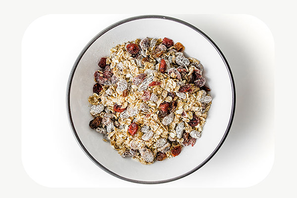 Muesli + Almond Milk