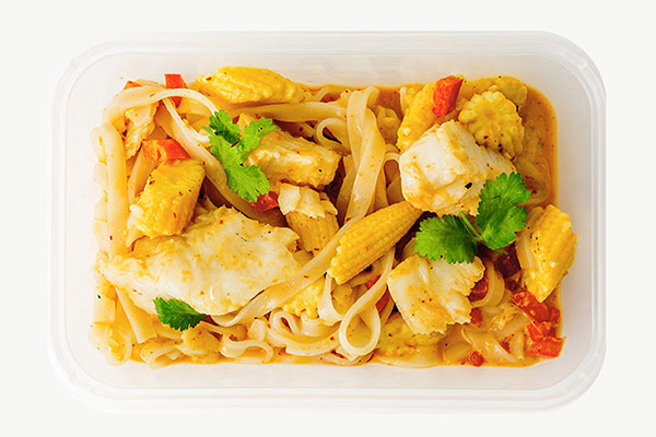 Thai Red Cod Curry - 450